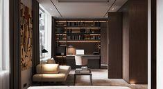 Silence among the noise on Behance Luxury Interior, Interior Styling, Tv Unit Bedroom, New Build Developments, Bedroom False Ceiling Design, Apartment Interior Design, Apartment Ideas, Tv Unit Design, Master Room