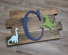 Dinosaur Nursery Art Wood Pallet Sign Personalized Name Sign Nursery Pallet Wood Sign Dino Nursery Decor Large Wood Letters Home Decor Nursery Signs, Nursery Art, Nursery Decor, Bedroom Decor, Dinosaur Room Decor, Dinosaur Nursery, Boys Dinosaur Bedroom, Dinosaur Kids Room, Dinosaur Dinosaur