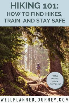 This ultimate guide to hiking for beginners is perfect for beginner women hikers and those who want to up their hiking game! Learn how to choose the perfect trail for your skill level, train for a hike, pack for a hike, buy the right hiking gear, and stay safe outdoors and on the trail! Get the best hiking for beginners packing list and hiking for beginners tips in this guide! Plus download the FREE hiking gear checklist! #hikinggear #hikingforbeginners #beginnerhikers #hikingtips Hiking Gear Women, Hiking Usa, Hiking Tips, Backpacking Gear List, Camping Checklist, Hiking Quotes, Hiking Essentials, Hiking Photography, National Parks Usa
