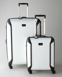 """""""Tegra+Lite""""+White+Luggage+Collection+by+Tumi+at+Neiman+Marcus."""