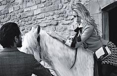 Alice Dellal is A Punk Chic Equestrian Girl for Chanel Boy Bag Spring 2013