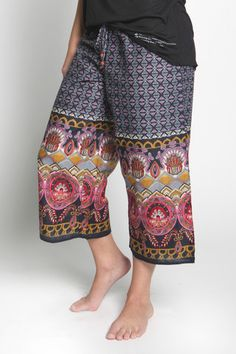 Fall and Winter Pajamas for Women | Clothing on Sale | Pajamas On Sale Made by Women - PUNJAMMIES by International Princess Project - KALANI Capri