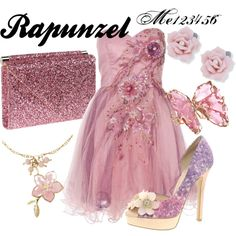 """Rapunzel"" by me123456 on Polyvore"