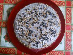 Csokis szülinapi torta