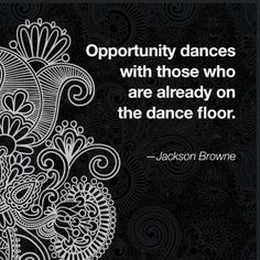 Get out on that dance floor!