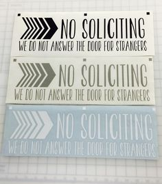 no soliciting door sign etsy shop signs by veronica villarreal pinterest door signs doors and cricut