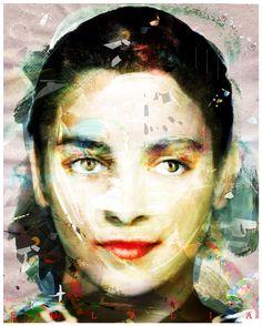 Eulália   #4   Falsos Amigos/Fake Friends   Mar 2016   Cartaz/Poster   40x50 cm /15x20 in   Ask4prints