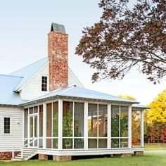 Alabama Farmhouse: The Screened Porch