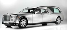 The Rolls Royce Phantom Hearse B12 is Fancy #coffins trendhunter.com