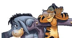 tigger and eeyore   Tigger and Eeyore » The Scott Times