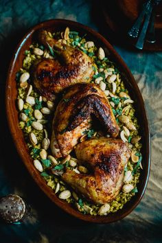 Chicken Freekeh : Divine Middle Eastern Recipe