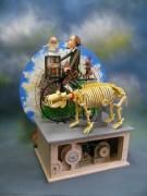 Keith Newstead Automata - you really must go see his website, he creates automata scenes, very detailed with extended and varied movements.  I really can't say enough good things about this hugely creatively talented person.