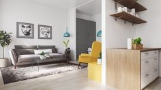 4 Interiors That Harmonise Clutter Using Scandinavian Style