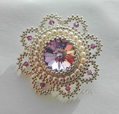 This Pin was discovered by ÖMÜ Beaded Jewelry Designs, Bead Jewellery, Seed Bead Jewelry, Seed Beads, Beading Projects, Beading Tutorials, Beading Patterns, Bead Embroidery Jewelry, Beaded Embroidery