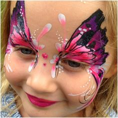 Butterfly Face Paint, Face Painting Designs, Face And Body, Cute Kids, Facial, Photoshoot, Bodypaint, Events, Artist