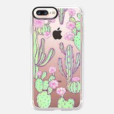 Casetify iPhone 7 Plus Case - Cactus by elmiraamirova Cute Phone Cases, Iphone Cases, Tech Accessories, Cell Phone Accessories, Iphone Gadgets, Iphone Price, Dorm Room Organization, Cactus Decor, Iphone Charger