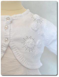 Culotte bébé en coton blanc avec volants dentelle et nœud ottoman ... cb4efa9704b