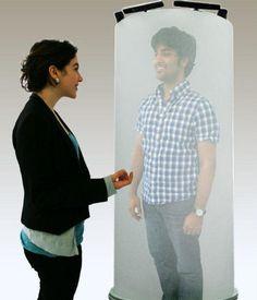 Universidad canadiense desarrolla sistema de telepresencia con hologramas 3D.