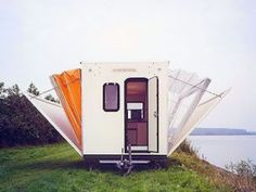 Motorhomes and Caravans: WOW! This is cool RV Trailer for camping - PHOTO