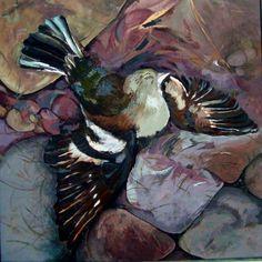 In the end. Acrylic. Sheila Robinson