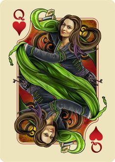 Laurian from The Name of the Wind Art Deck