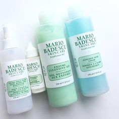 """The brand that changed my skin! These are just a few products I live by! Thank you #mariobadescu!""—@courtney.eves"