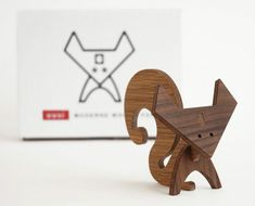 Moderne Wood Animals  Designed by Linnea Gits and Peter Dunham