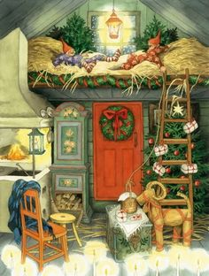 Как встречать Новый год в старости (13фото) » Картины, художники, фотографы на Nevsepic