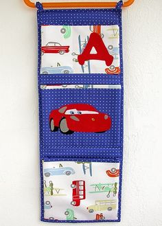 Made by Irinelli: Кармашек с Ferrari