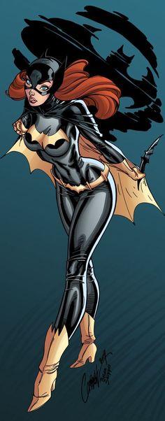 Hermosas ilustraciones de la hermosa Batgirl (Batman)
