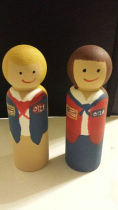 American Heritage Girl peg doll AHG