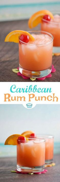 Nadire Atas on Drinks to Relax Brighten your cold winter days with a Caribbean Rum Punch! It's the perfect cure for shoveling snow and braving freezing cold temperatures outside. © 2017 COOKING WITH CURLS Fancy Drinks, Bar Drinks, Non Alcoholic Drinks, Cocktail Drinks, Cocktail Recipes, Bourbon Drinks, Rum Punch Recipes, Alcohol Drink Recipes, Refreshing Drinks