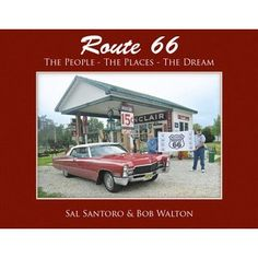 """This book will be a great resource for students to view to get a visual concept of Route 66.  """"Route 66, The People - The Places - The Dream"""" has 260 glossy, horizontal format pages with more than 500 color photos. In it, two retir..."""