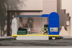 IKEA Is Designing Self-Driving Cars That Double As Cafés, Offices, And More