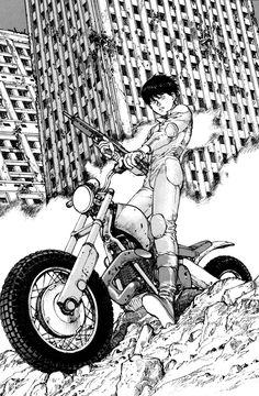 《Akira》 by 大友克洋 Katsuhiro Otomo