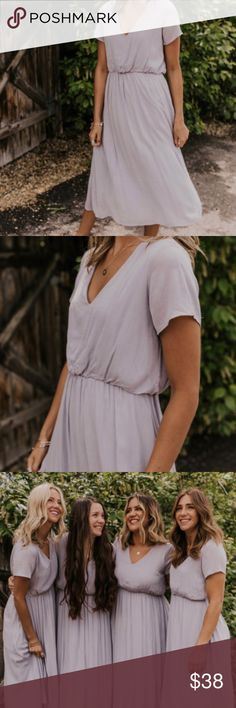 Shop Women's Roolee size L Midi at a discounted price at Poshmark. Large Size Dresses, Bridesmaid Dresses, Wedding Dresses, Swag, Skin Treatments, Insta Makeup, Fashion Tips, Fashion Design, Fashion Trends