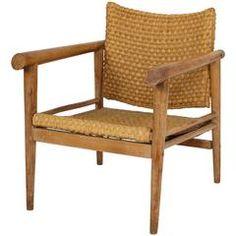 Straw Wicker Woven Rush Chair Mid Century Attr. Jean Michel Frank, 1930 France