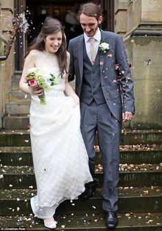 knitted wedding dress - knitted weddings on the LoveKnitting blog