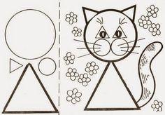 Atividades para Educação Infantil: trabalhando formas geométricas de modo divertido, montando animais! - ESPAÇO EDUCAR