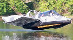 Hovercraft flying ground effect