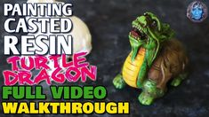 Resin Casting, Turtle, The Creator, Arts And Crafts, It Cast, Dragon, Painting, Turtles, Tortoise