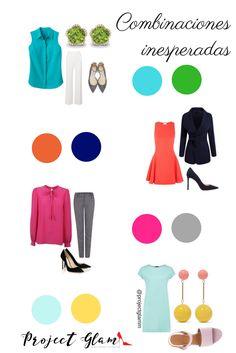 Combinaciones de colores inesperados — Project Glam