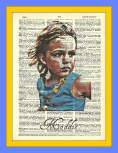 Your favorite kids photo on a dictionary page, $8.0