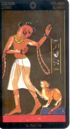Nefertari Tarot - The Fool (I have this one)