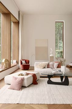 Here are the Summer Modern Minimalist Living Room Decor Ideas. This article about Summer Modern Minimalist Living Room Decor Ideas … Small Living Room Furniture, Interior Design Living Room, Living Room Designs, Home Furniture, Interior Modern, Natural Interior, European Furniture, Interior Colors, Interior Livingroom