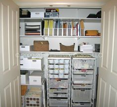 organized office closet. Exellent Closet 17 Ways To Make Organizing Fun  Pinterest Closet Organization  Organizations And On Organized Office O