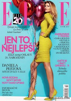 Daniela Pestova for Elle Czech (February 2014) - http://qpmodels.com/european-models/daniela-pestova/5702-daniela-pestova-for-elle-czech-february-2014.html