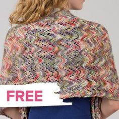Free aRTYARNS shawl pattern
