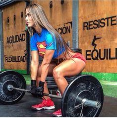 Real women lift HEAVY.