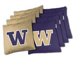 Tailgate Toss NCAA Bean Bag Game Set Washington Huskies